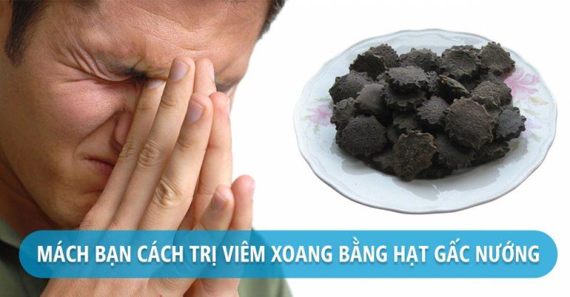 Chua Viem Xoang Ban Hat Gac Nuong