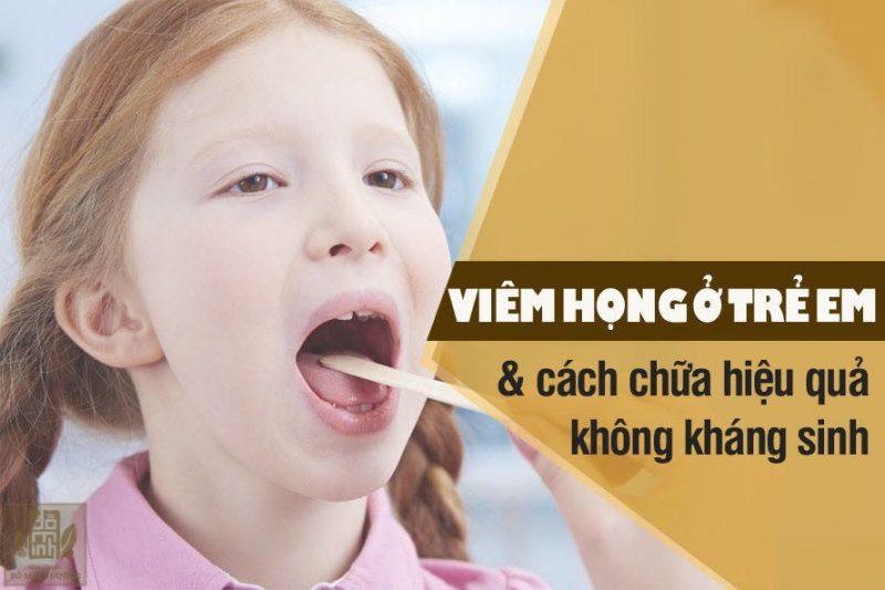 Hinh Anh Tre Em Bi Viem Hong