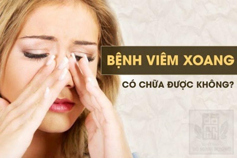 Viem Xoang Man Tinh Co Chua Duoc Khong