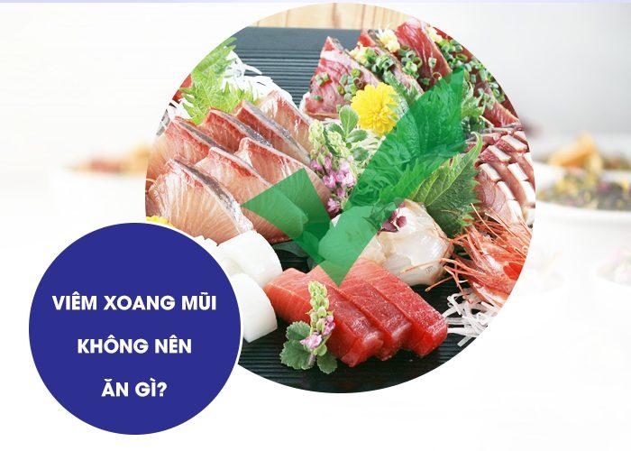 Viem Xoang Mui Khong Nen An Gi
