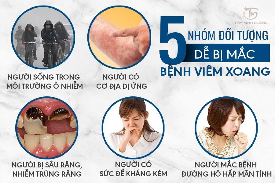 5 Doi Tuong De Mac Viem Xoang Mui