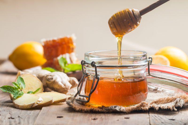 Nghệ mật ong là thực phẩm tốt cho đường tiêu hóa
