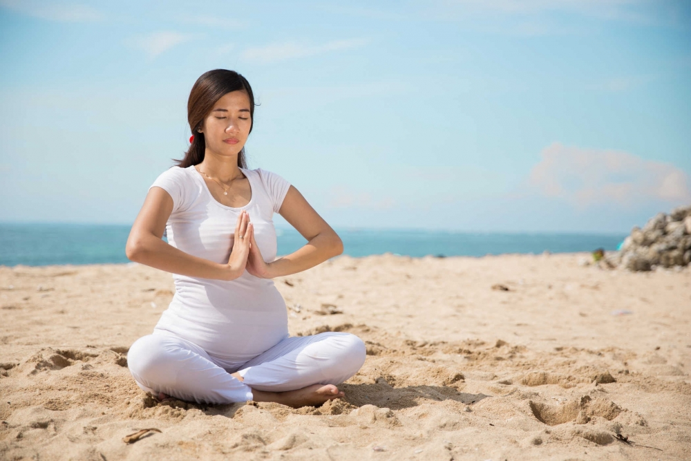 Mẹ bầu tập yoga đảm bảo cho sức khỏe