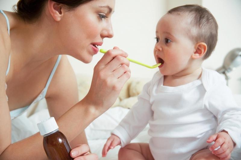 Vitamin C có trong siro cho trẻ