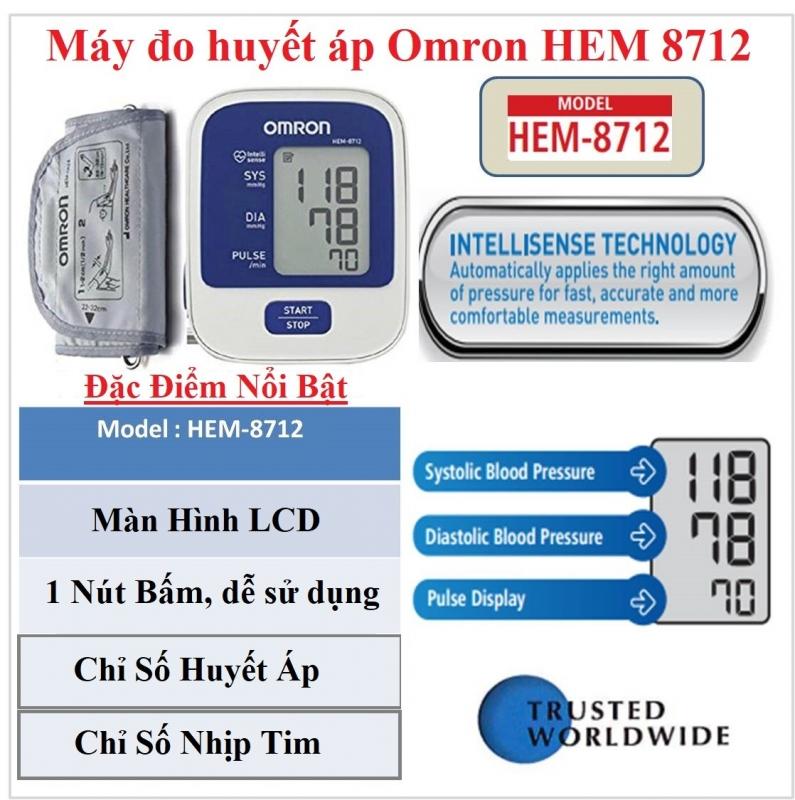 Máy đo huyết áp HEM-8712