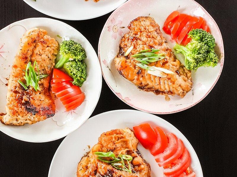 Ăn lượng cá và thịt trắng vừa phải mỗi tuần