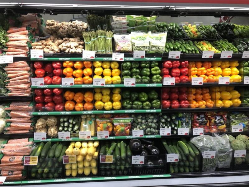 Lựa mua thực phẩm sạch nguồn gốc organic