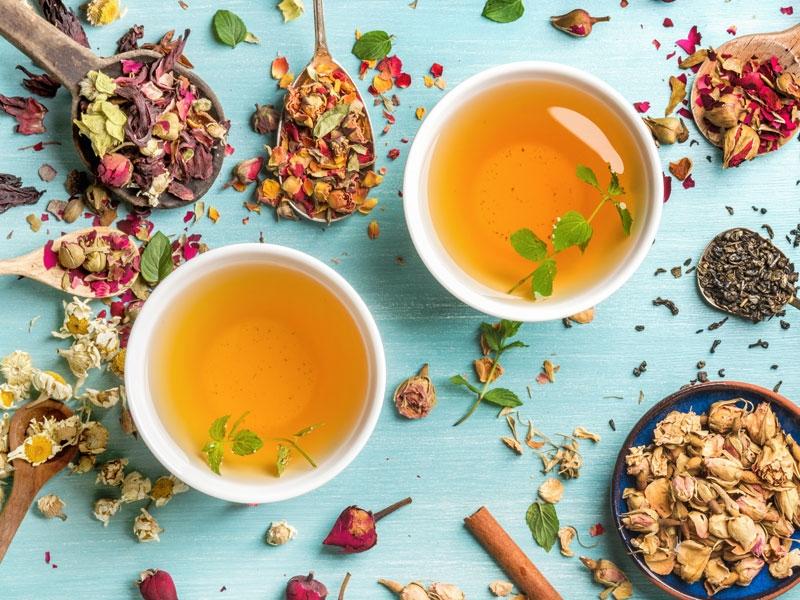 Kết hợp sử dụng một số loại trà thảo mộc