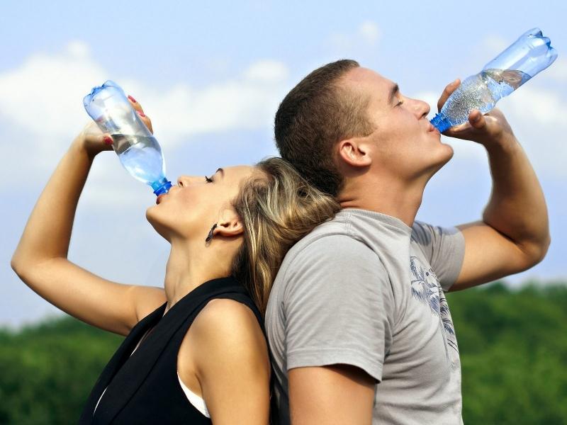 Cung cấp chất điện giải bù nước cho cơ thể