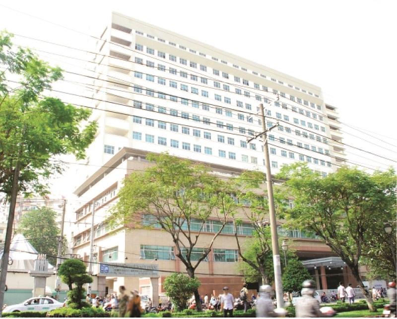 Bệnh viện Đại học Y dược TPHCM khang trang, rộng rãi