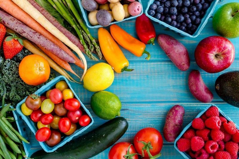 Ưu tiên chế độ rau xanh và trái cây