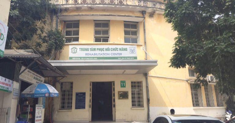 Trung tâm Phục hồi chức năng thuộc bệnh viện Bạch Mai