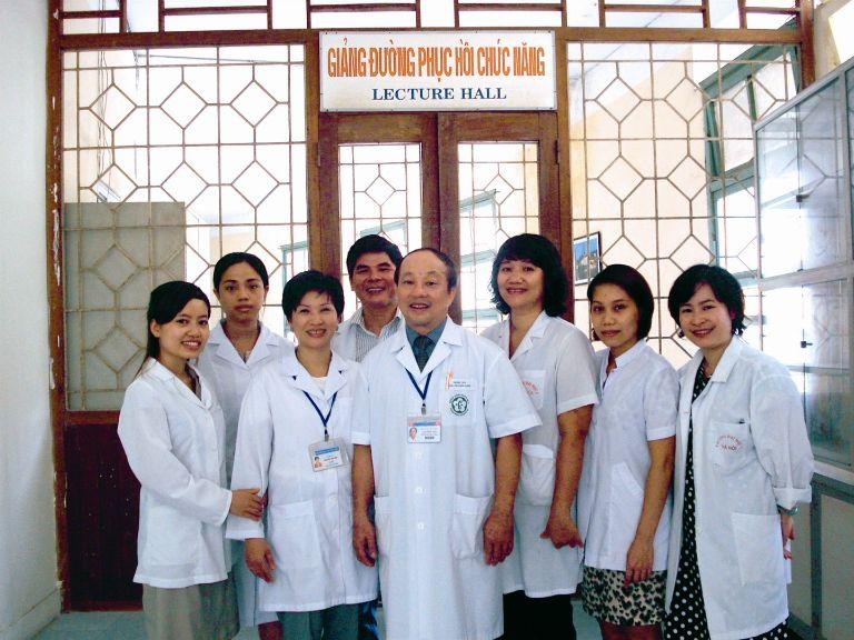 Bệnh viện đại học Y Hà Nội khoa Phục hồi chức năng